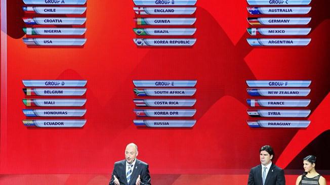 Юношеская сборная России сыграет с Коста-Рикой, КНДР и ЮАР на ЧМ-2015 Фото Официальный сайт ФИФА