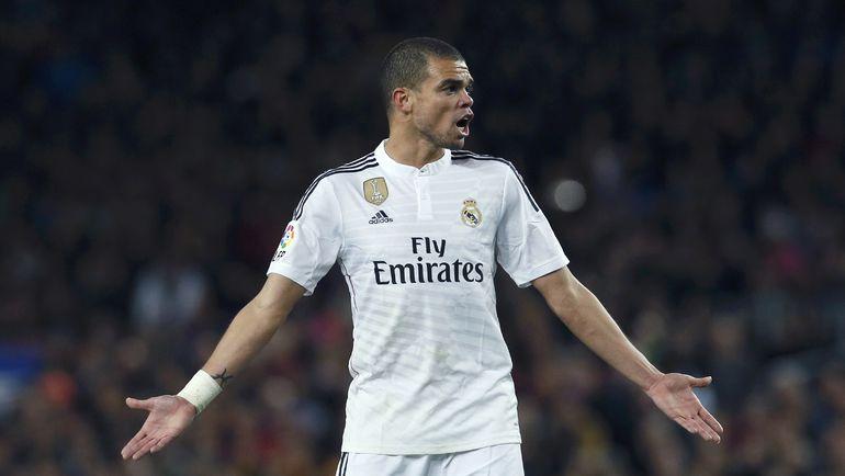 """Защитник """"Реала"""" ПЕПЕ. Фото Reuters"""