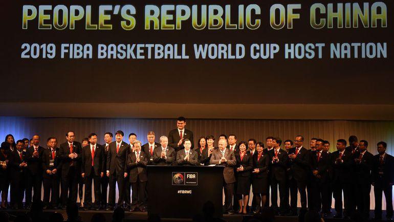 Пятница. Токио. Китай назван исполкомом ФИБА хозяином ЧМ-2019. Какой вердикт будет вынесен по России? Фото AFP