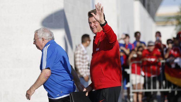 Луи ВАН ГАЛ. Фото AFP
