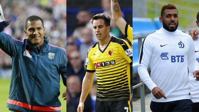 Саломон РОНДОН, Хосе ХУРАДО и Янн М'ВИЛА друг за другом сменили российские топ-клубы на середняков английской премьер-лиги.