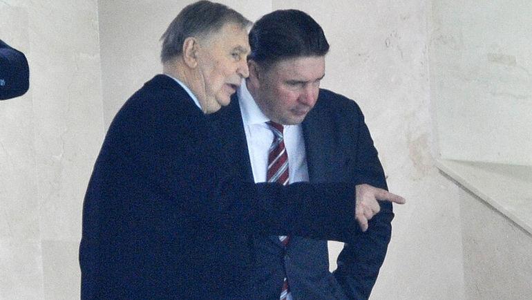 Виктор ТИХОНОВ и Алексей КАСАТОНОВ. Фото Алексей ИВАНОВ, «СЭ»