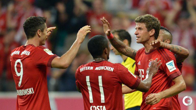"""""""Бавария"""" – """"Гамбург"""" – 5:0."""