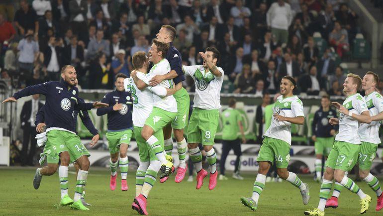 """""""Вольфсбург"""" уже успел выиграть трофей в начале сезона. Фото REUTERS"""