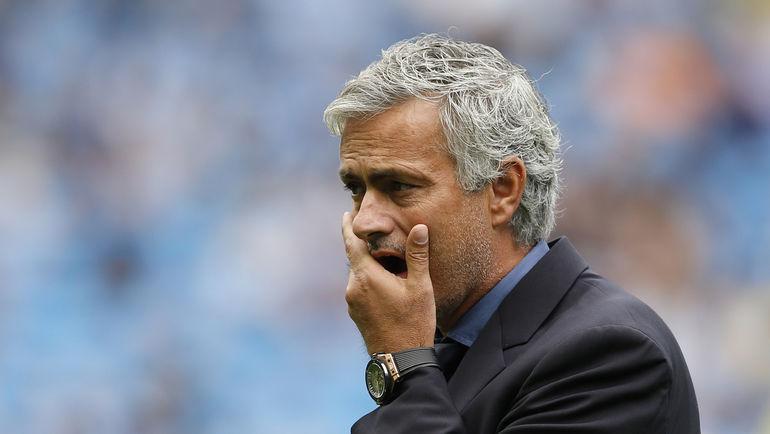"""""""Манчестер Сити"""" - """"Челси"""" - 3:0. Наставник """"синих"""" Жозе МОУРИНЬЮ."""