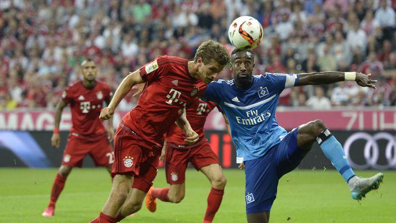 "14 августа. Мюнхен. ""Бавария"" - ""Гамбург"" - 5:0. Фото AFP"