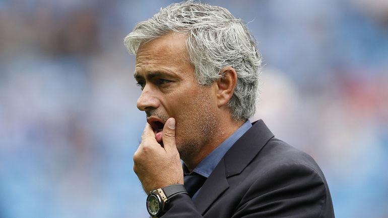 "Воскресенье. Манчестер. ""Манчестер Сити"" - ""Челси"" - 3:0. Эмоции Жозе МОУРИНЬЮ."
