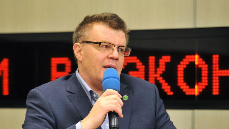 исполнительный директор Российского антидопингового агентства Никита КАМАЕВ. Фото Татьяна ДОРОГУТИНА
