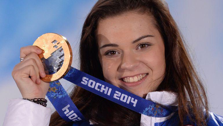 СОТНИКОВА - первая в советской и российской истории олимпийская чемпионка в одиночном катании у женщин. Фото AFP