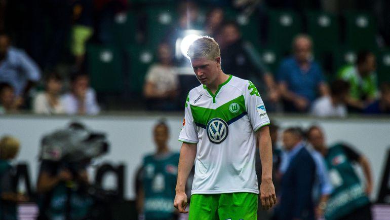 """Каждый следующий матч для Кевина ДЕ БРЕЙНЕ может стать последним в """"Вольфсбурге"""". Но это пока открыто трансферное окно... Фото REUTERS"""