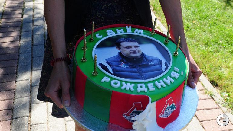 Торт для Игоря Черевченко.