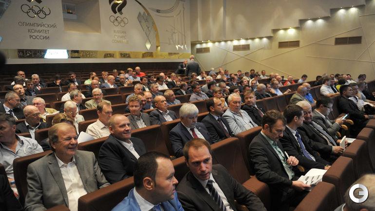 Внеочередная конференция федерации хоккея России.