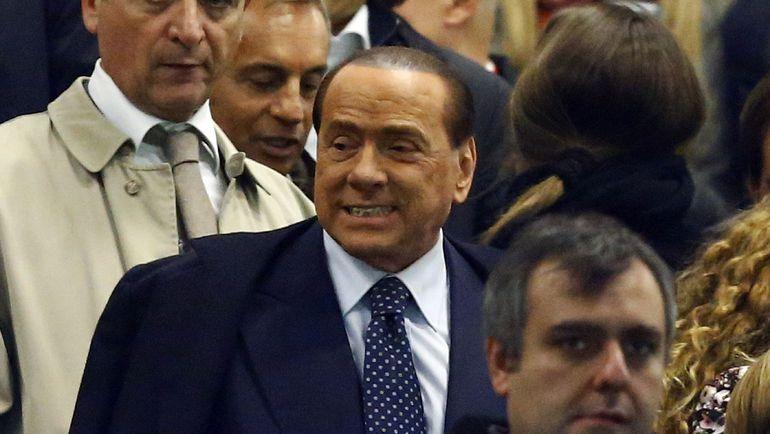 """Президент """"Милана"""" Сильвио БЕРЛУСКОНИ. Фото AFP"""