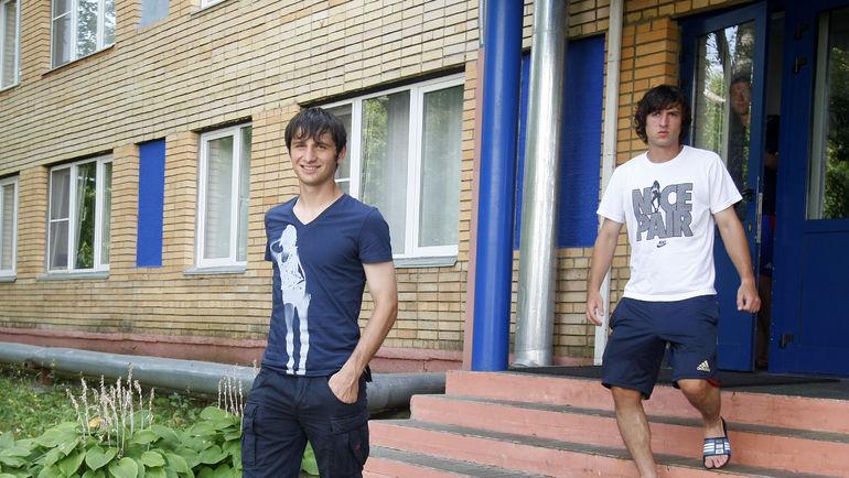 """2010 год. Алан ДЗАГОЕВ и Ника ПИЛИЕВ. Фото Алексей ИВАНОВ, """"СЭ"""""""