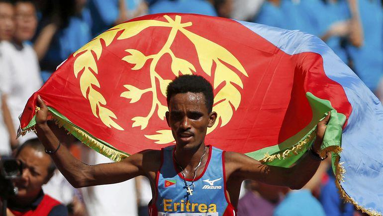 Гирмай ГЕБРЕСЕЛАССИЕ стал чемпионом мира. Фото Reuters