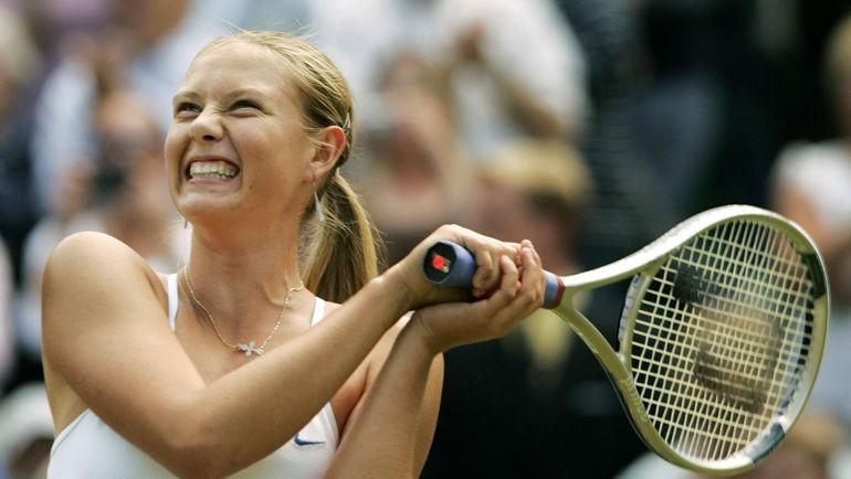 Мария ШАРАПОВА выиграла Уимблдон в 2004-м. Фото REUTERS