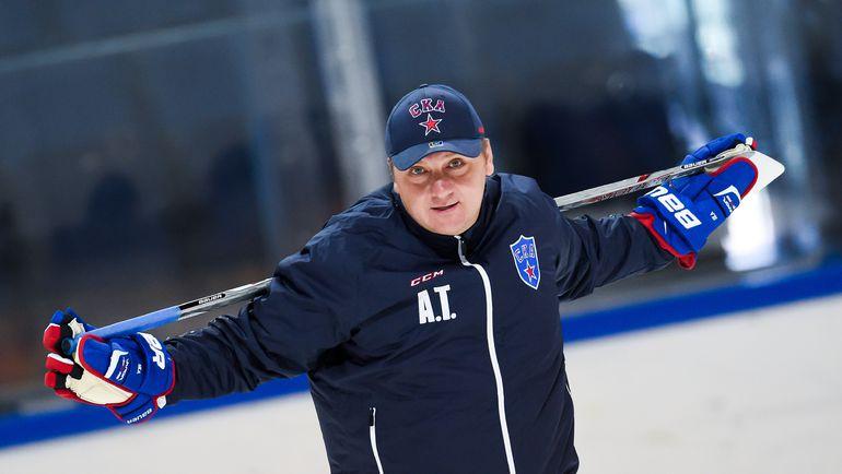 Генеральный менеджер Андрей ТОЧИЦКИЙ. Фото ХК СКА.