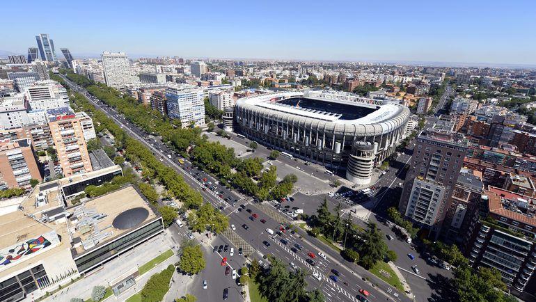 """Стадион """"Сантьяго Бернабеу"""". Фото AFP"""