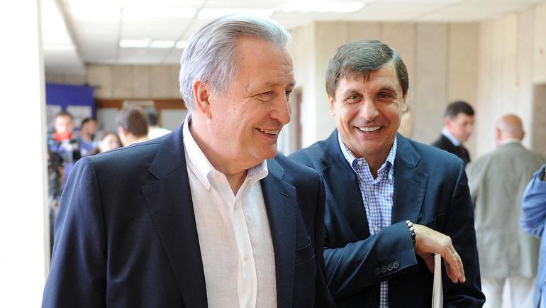 """Александр ЯКУШЕВ и Валерий КАМЕНСКИЙ. Фото Алексей ИВАНОВ, """"СЭ"""""""