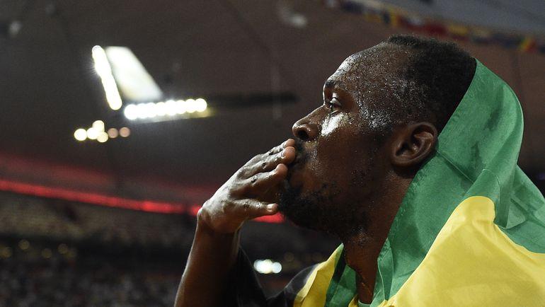 Воскресенье. Пекин. Усэйн БОЛТ одержал самую тяжелую в карьере победу и стал абсолютным рекордсменом по количеству побед на чемпионатах мира. Фото AFP