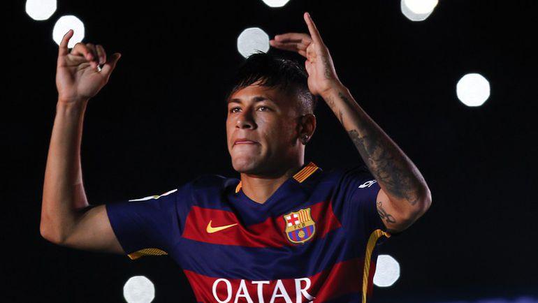 """Не сумев заполучить Педро, """"МЮ"""" переключил свое внимание на другого форварда """"Барселоны"""" - НЕЙМАРА. Фото AFP"""