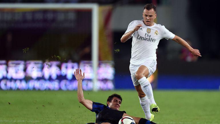 """В """"Реале"""" Денис ЧЕРЫШЕВ тренируется со звездами. Но будет ли он с ними играть? Фото AFP"""