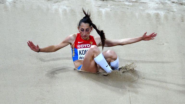 Екатерина КОНЕВА осталась без медали на чемпионате мира. Фото AFP