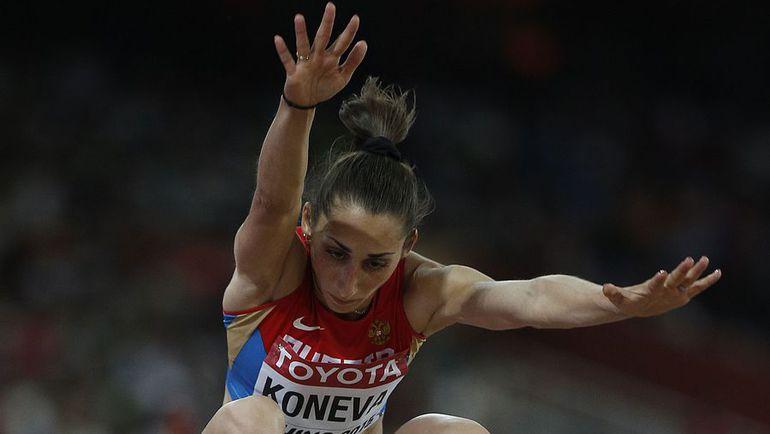 Екатерина КОНЕВА показала в квалификации результат 14 м 12 см. Фото AFP