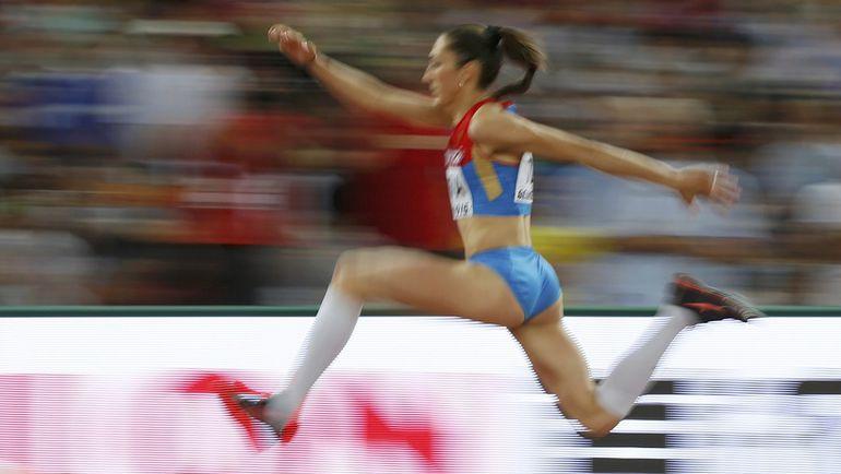 В Пекине Екатерина КОНЕВА испытывала проблемы с желудком. Фото REUTERS
