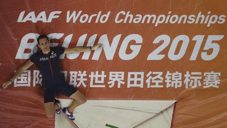 Рено ЛАВИЛЛЕНИ стал лишь бронзовым призером чемпионата мира. Фото AFP