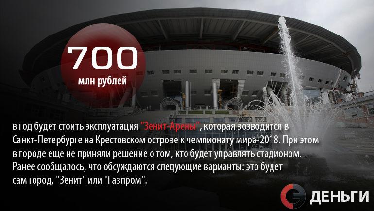 """""""Зенит-Арена"""" будет стоить 700 миллионов рублей в год. Фото """"СЭ"""""""