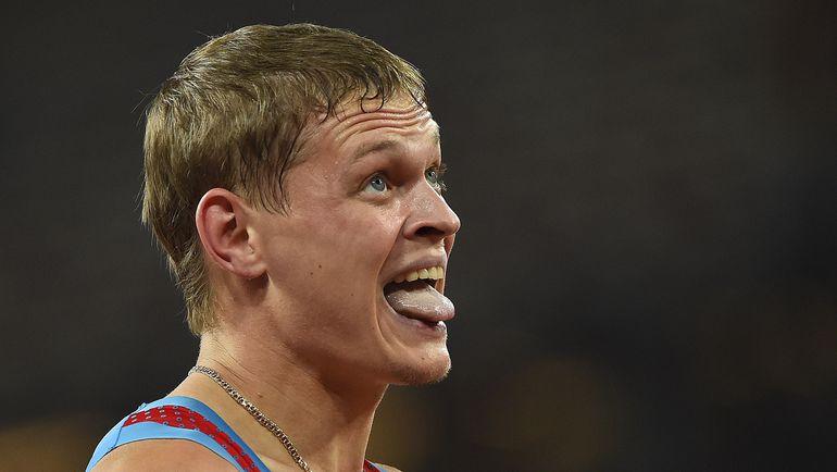 Главный российский герой вторника на чемпионате мира в Пекине Денис КУДРЯВЦЕВ. Фото AFP