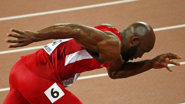 В забеге на 400 метров у мужчин ожидается дуэль олимпийского чемпиона Кирани Джеймса и Лашона МЭРИТТА. Фото REUTERS
