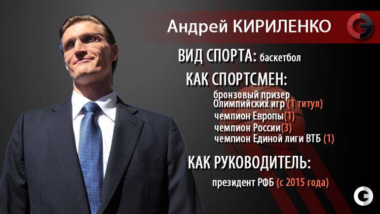 Новый президент РФБ Андрей КИРИЛЕНКО.
