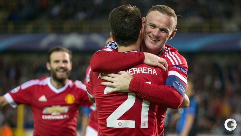 """""""Брюгге"""" – """"Манчестер Юнайтед"""" – 0:4."""