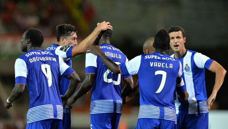 """Футболисты """"Порту"""". Фото AFP"""