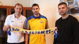 Павел АСТАХОВ (слева) и Алексей ШВЕД (в центре).