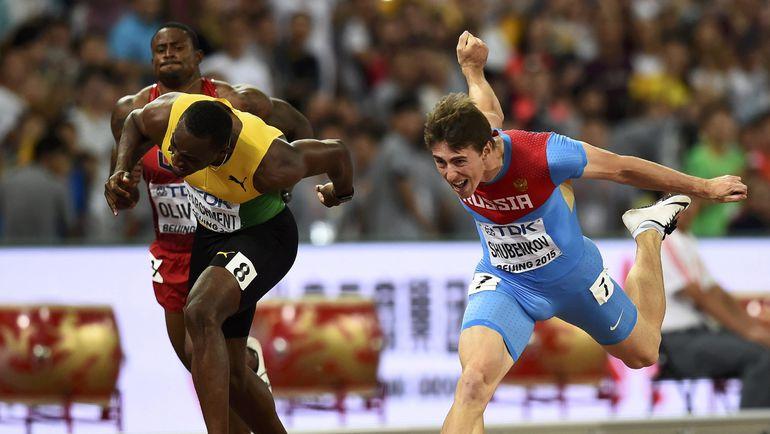 Пятница. Пекин. Золотой финиш Сергея ШУБЕНКОВА (справа). Фото Reuters