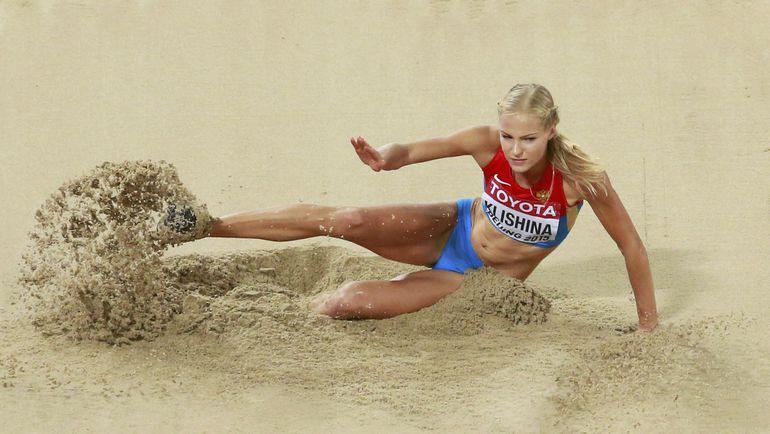 Сегодня. Пекин. Дарья КЛИШИНА на чемпионате мира стала только 10-й. Фото REUTERS
