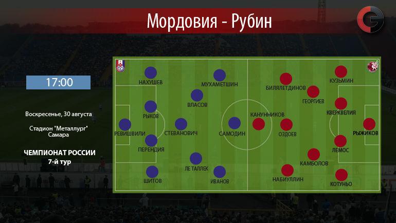 """""""Мордовия"""" vs. """"Рубин"""". Фото """"СЭ"""""""