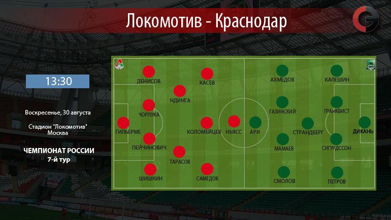 """""""Локомотив"""" vs. """"Краснодар"""". Фото """"СЭ"""""""