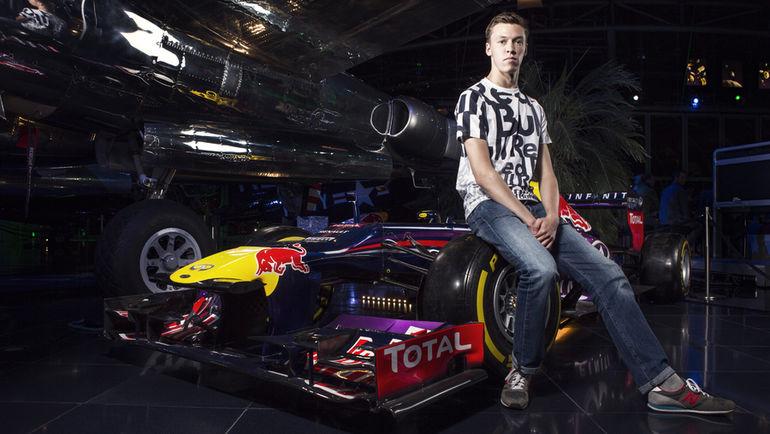 """Даниил КВЯТ и его """"Ред Булл"""". Фото Red Bull"""