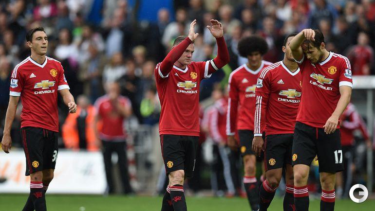 """""""Суонси"""" – """"Манчестер Юнайтед"""" – 2:1."""