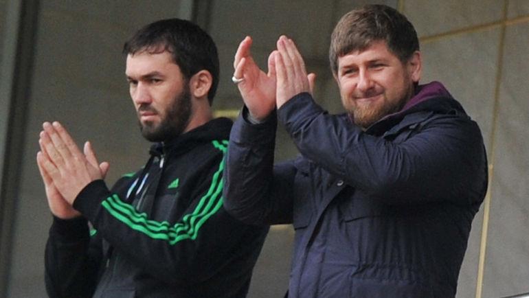 Магомед ДАУДОВ (слева) и Рамзан КАДЫРОВ. Фото Александр ФЕДОРОВ