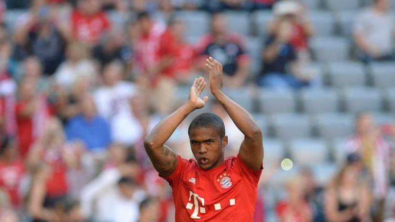 "Суббота. Мюнхен. ""Бавария"" - ""Байер"" - 3:0. ДУГЛАС КОСТА. Фото AFP"