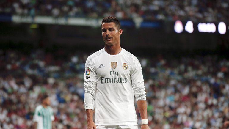 """Суббота. Мадрид. """"Реал"""" - """"Бетис"""" - 5:0. КРИШТИАНУ РОНАЛДУ ушел с поля """"сухим"""". Фото REUTERS"""