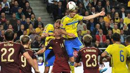 9 октября 2014 года. Стокгольм. Швеция – Россия – 1:1. В матче прошлого года соперники по субботнему поединку победителя не выявили.