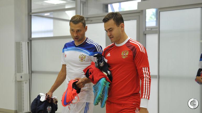 Алексей БЕРЕЗУЦКИЙ (слева) и Игорь АКИНФЕЕВ.