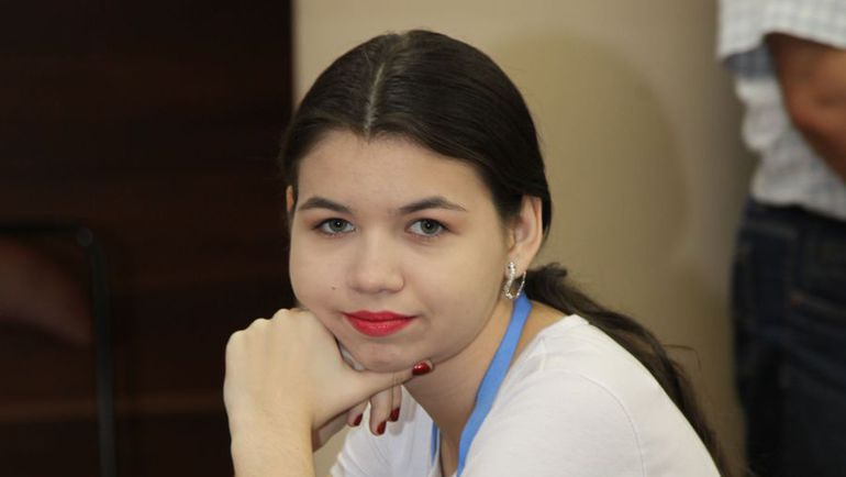 Александра ГОРЯЧКИНА. Фото Владимир БАРСКИЙ