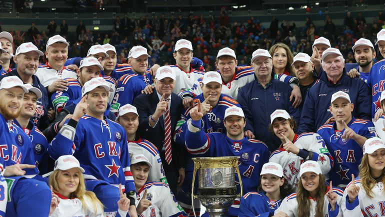 Игровой стиль СКА, выигравшего в этом году Кубок Гагарина, в сезоне-2015/16 полностью изменился. Фото Игорь РУССАК/РИА Новости
